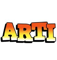 Arti sunset logo