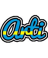Arti sweden logo