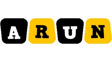 Arun boots logo