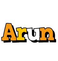Arun cartoon logo