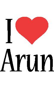 Arun i-love logo