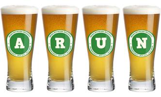 Arun lager logo