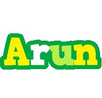 Arun soccer logo