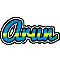 Arun sweden logo