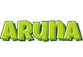 Aruna summer logo