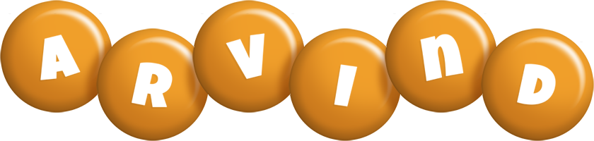 Arvind candy-orange logo