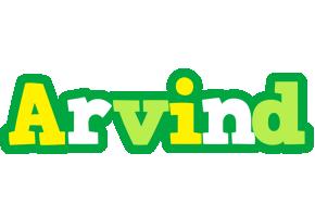 Arvind soccer logo