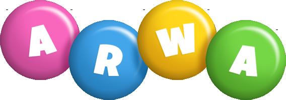 Arwa candy logo