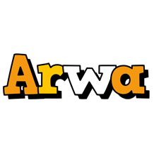 Arwa cartoon logo