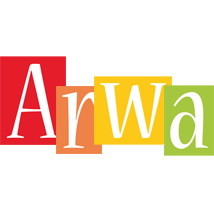 Arwa colors logo