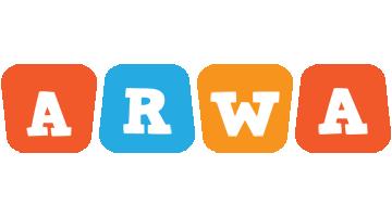 Arwa comics logo