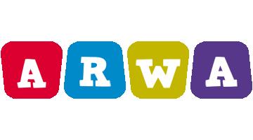 Arwa daycare logo