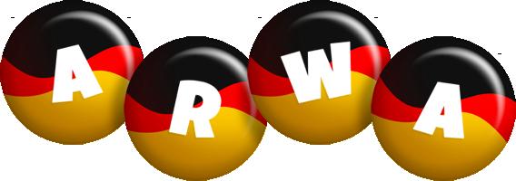 Arwa german logo