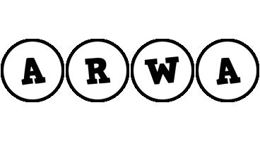 Arwa handy logo