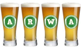 Arwa lager logo