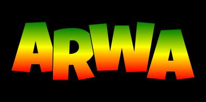 Arwa mango logo
