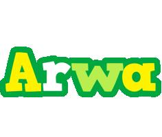 Arwa soccer logo