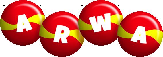 Arwa spain logo