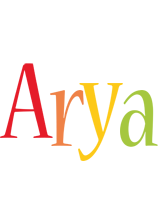 Arya birthday logo