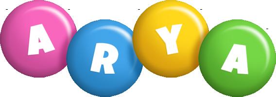 Arya candy logo