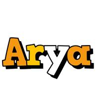 Arya cartoon logo