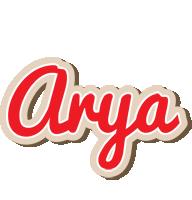 Arya chocolate logo