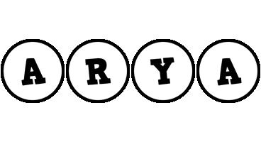 Arya handy logo