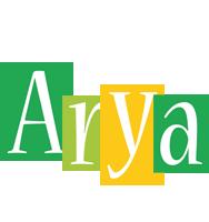 Arya lemonade logo