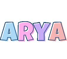 Arya pastel logo