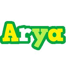 Arya soccer logo