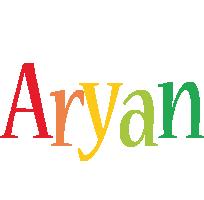 Aryan birthday logo