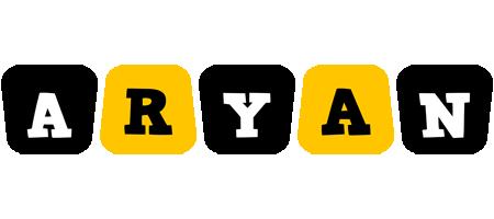 Aryan boots logo