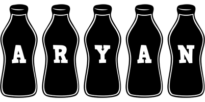 Aryan bottle logo