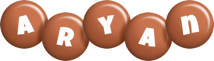 Aryan candy-brown logo