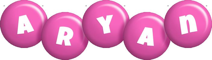 Aryan candy-pink logo