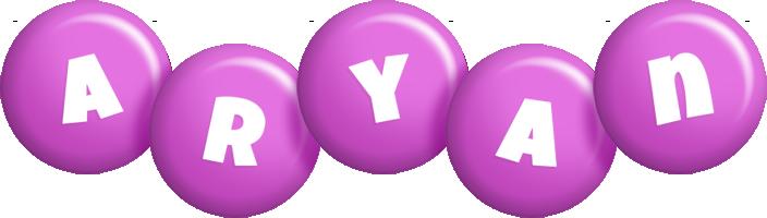 Aryan candy-purple logo
