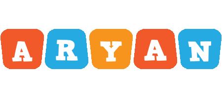 Aryan comics logo