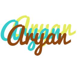 Aryan cupcake logo