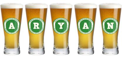 Aryan lager logo