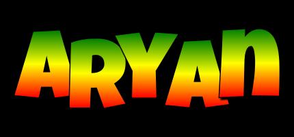 Aryan mango logo