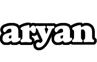 Aryan panda logo