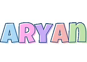 Aryan pastel logo