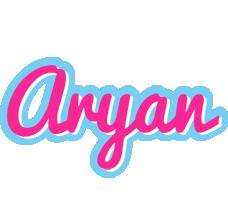 Aryan popstar logo
