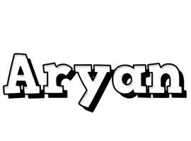 Aryan snowing logo