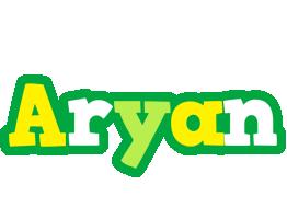 Aryan soccer logo