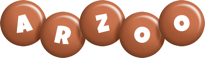 Arzoo candy-brown logo