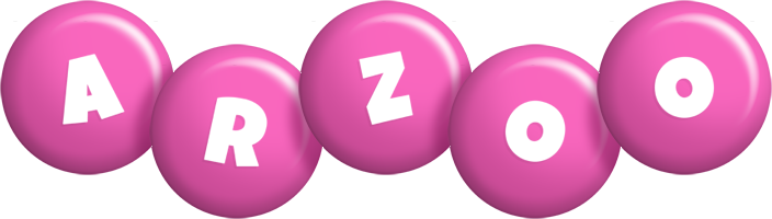 Arzoo candy-pink logo