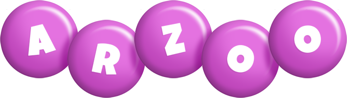 Arzoo candy-purple logo