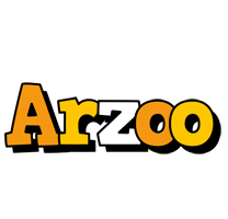 Arzoo cartoon logo