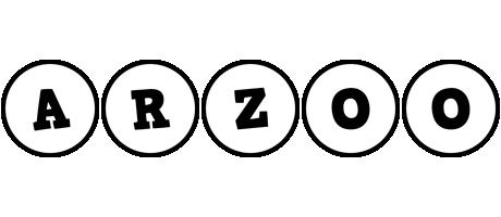 Arzoo handy logo